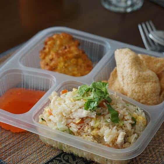 Boonnak Thai the lunch box fried rice set