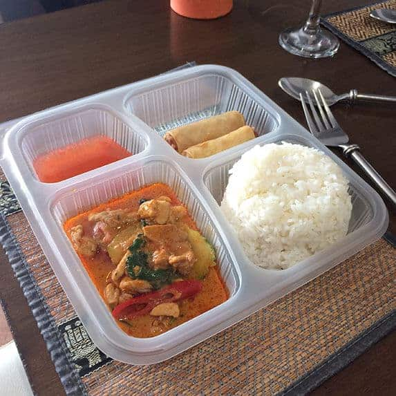 Red curry set