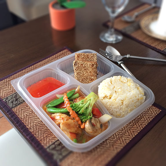 Stir-fried boonnak set